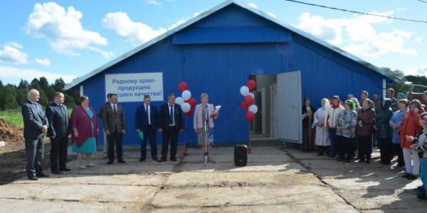 В деревне Захарово построили молочную ферму благодаря гранту 10 млн. рублей