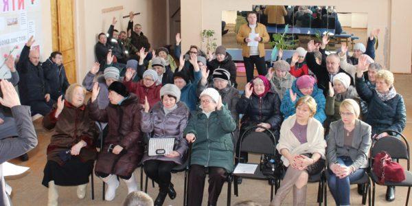 Светочева Гора: Единогласное «за»
