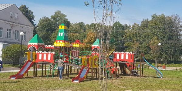 Парк в центре Красного-на-Волге официально открыт