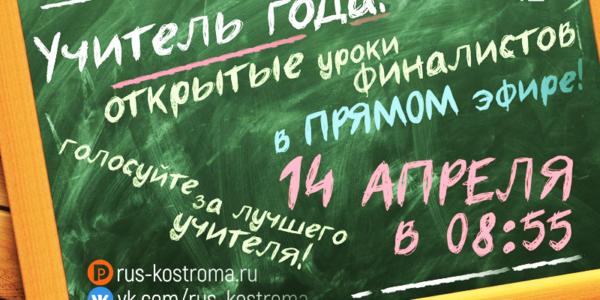 Красноселов призывают проголосовать за «Учителя года»
